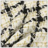 Смешанная ткань 100% проверок полиэфира цветов шерстяная