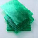 Impermeabilizar la hoja gemela teñida del policarbonato de la pared