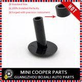 真新しく黒い英国国旗様式のABS小型たる製造人F55 F56 F57 R55 R56 R60 (2 PCS/Set)のためのプラスチッククロムドアロックボタン