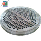 Plaque à tuyaux de feuille de tube de plaque à tuyaux d'embase de tube (ZH-TP-010)