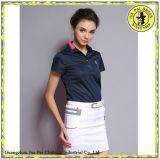 La vente en gros folâtre des chemises de polo de qualité pour des femmes