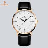 Quarz-Armbanduhr-beiläufige Uhr 72729 der Förderung-Edelstahl-Form-Männer