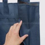 Подгонянный мешок косметики многоразовых сумок 600d Оксфорд Non сплетенный