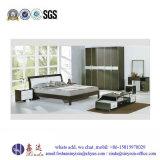الصين مصنع غرفة نوم أثاث لازم سرير بسيطة مزدوجة خشبيّة ([ب16])