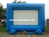 광고를 위한 옥외 큰 팽창식 영화 스크린