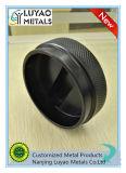 Piezas de aluminio de la alta precisión del OEM/CNC de encargo del aluminio que trabaja a máquina con la capa del polvo negro