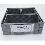 Cesta Eco-Friendly do armazenamento da HOME de feltro do poliéster (AD-A012)