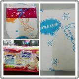 Baby-Produkte, trockene Oberfläche, machen rückseitige Film-Baby-Windel, kundenspezifische bequeme Baby-Windel glatt
