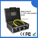 512Hz cámara video subacuática V10-3188dt del examen del tubo del localizador los 20m
