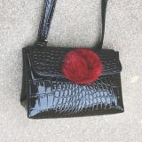 빛나는 악어 PU 여자 핸드백 어깨 지갑 Sy7943