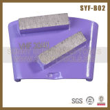 Sonniges Paralleltrapez-Schleifplatten für Fußboden-Schleifer