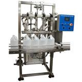 Machine de soufflement de bouteille semi automatique de remplissage à chaud