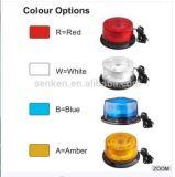 Baliza do diodo emissor de luz na cor azul
