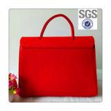 Damen Belüftung-lederne Entwerfer-Handtasche einfach u. Form-Entwurf