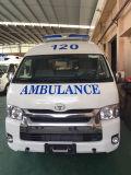 Ziekenwagen van de Benzine van het Dak van Toyota Hiace de Hoge 2.7L