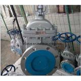 soupape à vanne d'extrémité de bride de Wcb d'acier du carbone de moulage de 150lb 300lb
