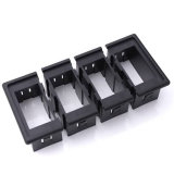 4 Gang LED Car Boat Rocker Switch Panel Withfuse Holder