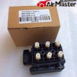 Bloc de soupape pour le compresseur de suspension d'air d'Audi A8 (4F0616013 4E0616005F)