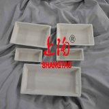 Laborporzellantiegel mit Deckeln oder Kappen