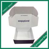Luxuxpurpurroter Geschenk-Papierkasten mit Matt-Laminierung