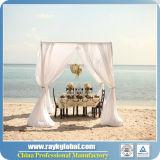 インドの結婚式の管は東洋のカーテンの装飾をおおい、