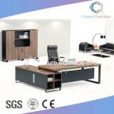Luxuxmöbel mit seitlicher Schrank-hölzernem Büro-Schreibtisch