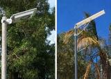 Iluminação de rua Monocrystalline da potência solar do painel do silicone com sensor de movimento