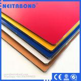El panel de pared de aluminio al aire libre de los materiales compuestos del certificado PVDF de la ISO