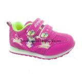Espadrilles colorées de gosses, chaussures extérieures, chaussures d'école