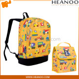 Mittagessen-Kasten-Beutel der Kind-Kind-Prinzessin-Birdie Animals Car Backpack