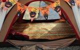 Напольная сь электрическая нагревательная подстилка для ног циновки пляжа спать двойника пусковой площадки одеяла пикника циновки пляжа тюфяка воздушного матраса Eco-Friendly раздувная