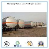 燃料のタンカーの価格、Fuwaの3つの車軸が付いている半40000リットルの燃料タンクのトレーラー