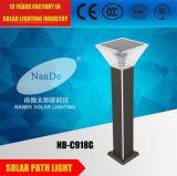 altas luces solares del aluminio LED del brillo 4W
