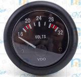 De Voltmeter van Cummins 16-32 met Wijzerplaat 52mm van de Kleur