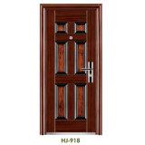 Stahltür-Außentür-Einstiegstür-Sicherheits-Tür Afrika populär (FD-918)