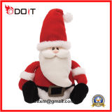 Brinquedo macio enchido rena do luxuoso do presente do Natal de Santa do luxuoso de 2017 feriados