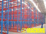 Cremalheira resistente da pálete para as soluções industriais do armazenamento do armazém (IRA)