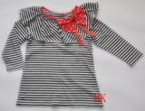 ニットウェア女の子のワイシャツ(HK-149)