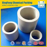 Ácido y resistente al calor anillo Raschig de cerámica para absorber Torre