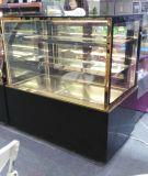 Étalage en verre commercial de gâteau de réfrigérateur d'étalage de partie supérieure du comptoir
