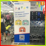 Алюминиевое знамя Pull-up Китая стойки индикации выставки