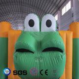 ココヤシ水デザイン販売LG9050のための膨脹可能で多彩なカエルの城