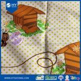 Напечатанное таможней полотенце чая кухни пчел