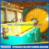 Máquina de alta velocidade da trança do fio da mangueira do metal flexível