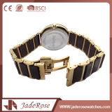 方法ステンレス鋼の大きい円形のダイヤルの防水腕時計