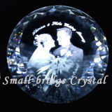 Álbum de foto cristalino de la boda de diamante (ND1020)
