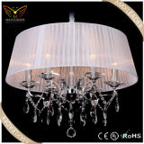 modern pendant lighting for crystal fabric decorative chandelier