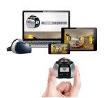 камера действия спорта 360h HD 4k WiFi камкордер подныривания кулачка 360 градусов широкоформатный водоустойчивый портативный