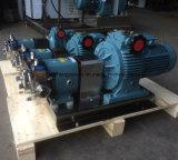 스테인리스 304 두 배 날개 회전자 펌프 회전하는 로브 펌프