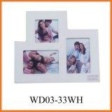 Рамка фотоего MDF (WD03-33WH)